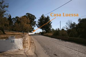 Casa Luessa Approach